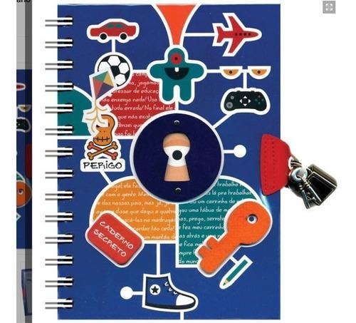 diário com chave - meninos