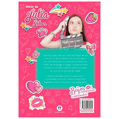 diário da julia silva livro ciranda cultural
