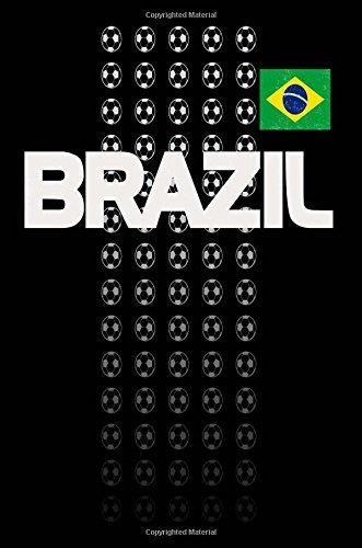 diario de fanáticos del fútbol de brasil cuaderno de composi