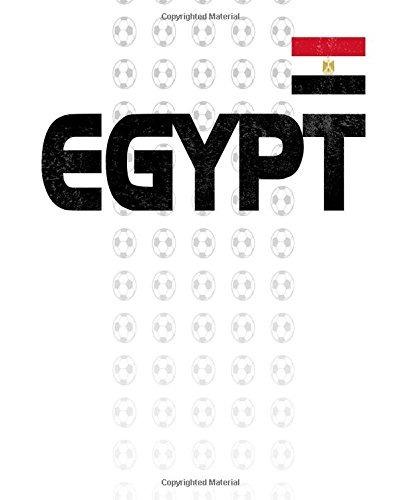 diario de fanáticos del fútbol de egipto cuaderno de composi