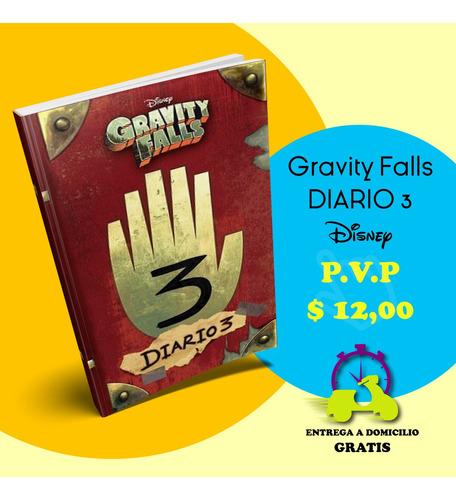 diario de gravity falls 3, gravity falls, libros oferta libr