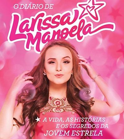 Diário De Larissa Manoela  O Livro Da Moda - R  35,90 em Mercado Livre fa346bebe7