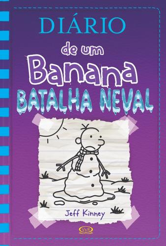 diário de um banana 13  batalha neval - capa dura