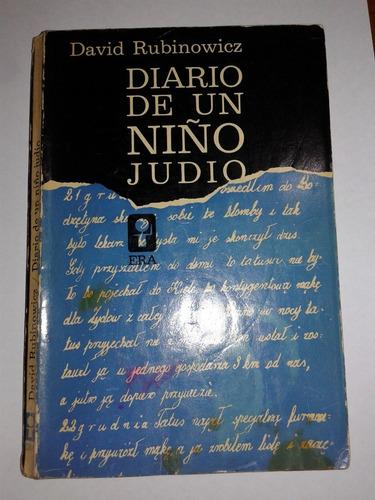 diario de un niño judio. david rubinowicz (ltc)