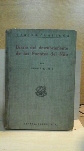 diario del descubrimiento de las fuentes del nilo  speke j h