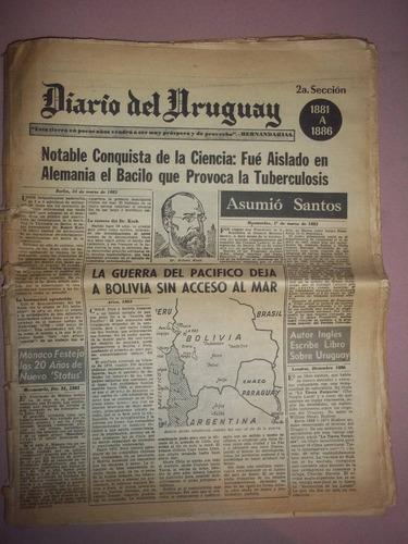 diario del uruguay año 1881 al año 1930 uruguay campeon
