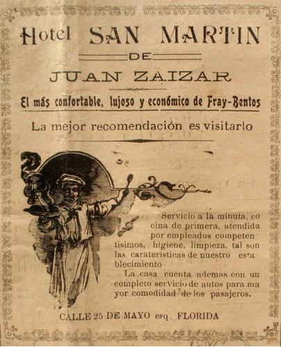 diario depto fray bentos año 1919 el imparcial comercios