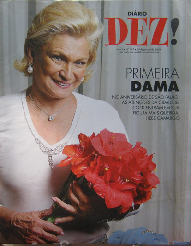 diario dez 119 hebe camargo primeira dama