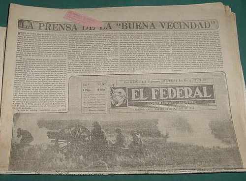 diario el federal 267 -31oct44 guerra war filipinas rusia