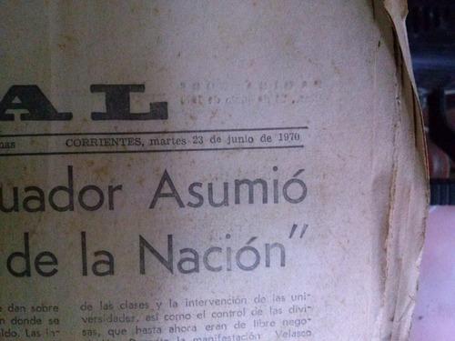 diario el litoral 1970
