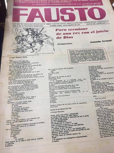 diario fausto. julio-agosto 1973.