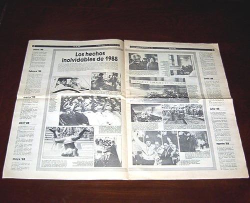 diario la epoca fin de año no 1988 los hechos inolvidables