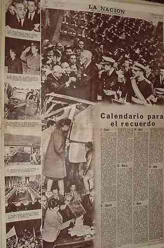 Calendario Panorama.Diario La Nacion 29 12 63 Calendario Mensual Panorama 1963 157 50