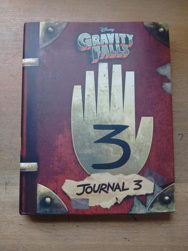 diario libro gravity falls 3 original numero 3