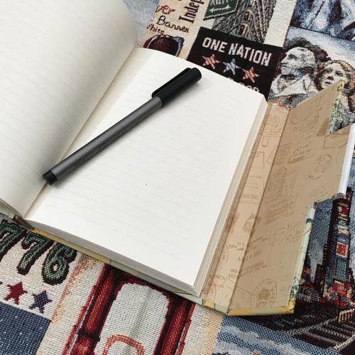 diario notebook libreta de recuerdos - travel journal