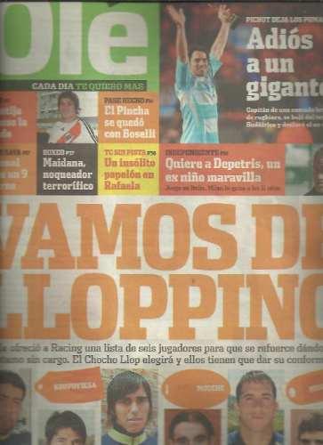diario ole 12 julio 2008 pichot