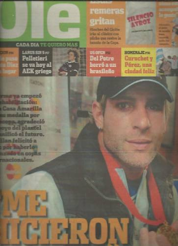 diario ole 29 agosto 2008 palermo me hicieron llorar boca