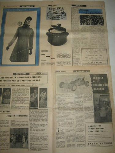 diario paycolor de paysandu año 1968 son dos antiguo