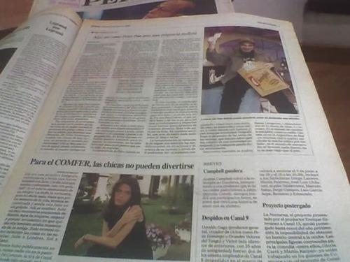 diario perfil 1998 mirtha legrand 30.000 personas 30 años