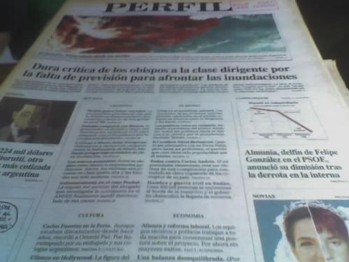 diario perfil 1998 reporteje franco macri