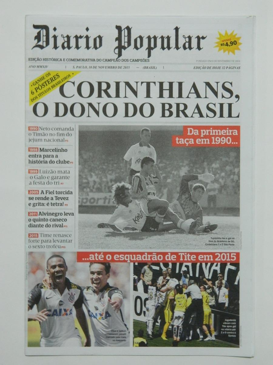 5c5c4fd385 diario sp corinthians campeão mundial brasileiro paulista. Carregando zoom.