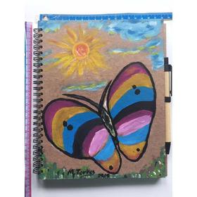 Diario,bitácora,o Para Notas,ecológico Sustentable M Colores