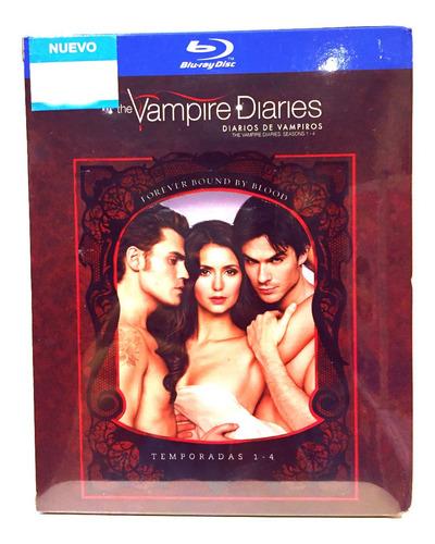 diarios de vampiros : collectors set temporadas 1-4