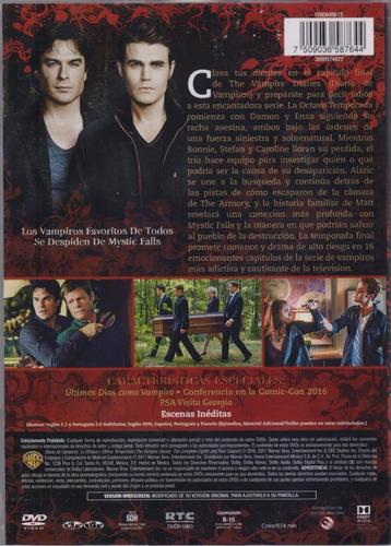 diarios de vampiros temporada 8 ocho vampire diaries dvd