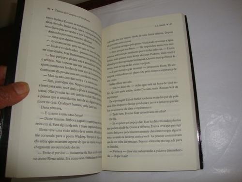 diários do vampiro o confronto l. j. smith - ano 2010