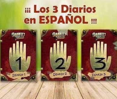 diarios gravity falls imprimibles español digital+especiales