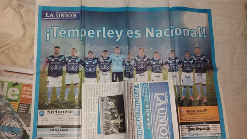 diarios y revistas club temperley
