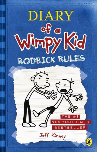 diary of a wimpy kid 2 - roderick rules  - jeff kinney