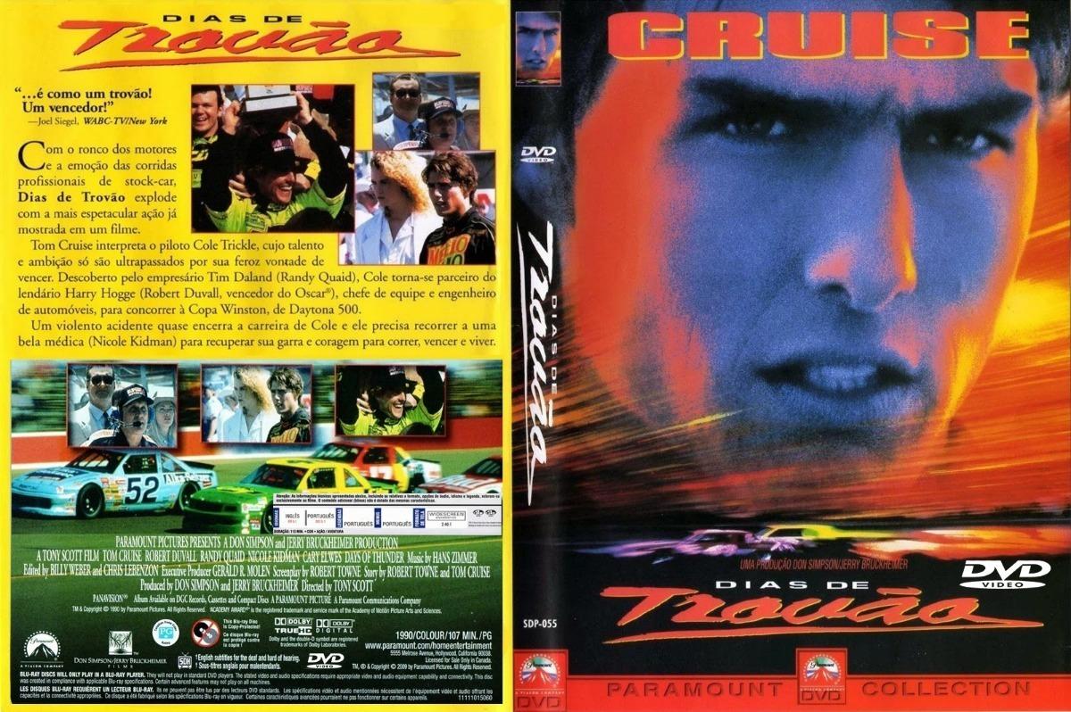 Dias De Trovão Tom Cruise Robert Duvall Dublado E Legendado - R ...