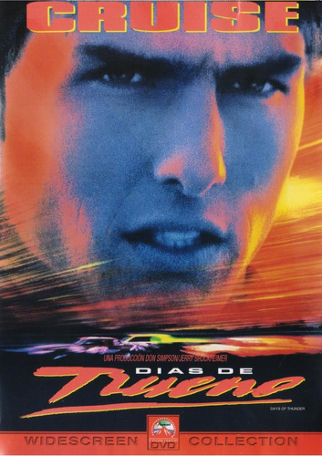 dias de trueno days of thunder tom cruise pelicula dvd