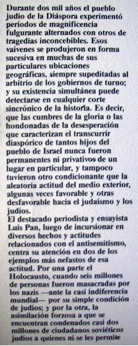 diaspora holocausto kgb persecución a los judíos luis pan
