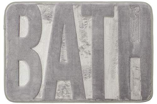 dib tmf040-1001/100 tapete de baño memory bath, color plata