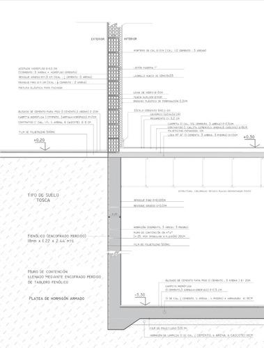 dibujante autocad - arquitecura