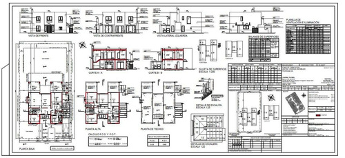 dibujante autocad, planos, clases, proyectos, doc. de obra