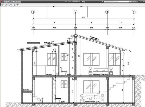 dibujante de autocad  planos - clases 1559887463