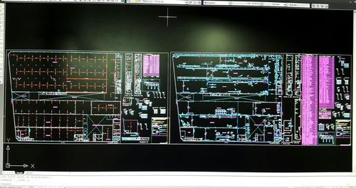 dibujante proyectista digitalizacion planos autocad cadista