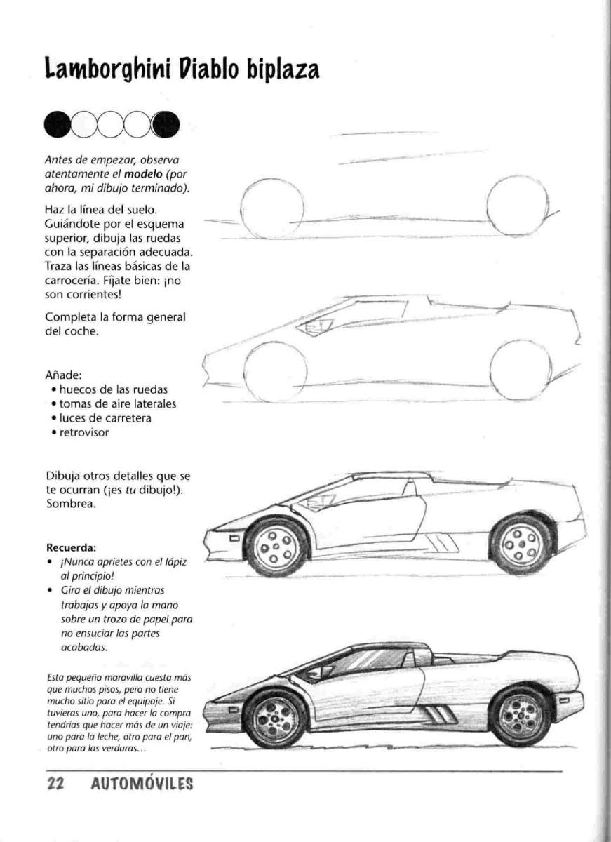 Dibujar Automoviles Paso A Paso Arte Dibujo Y Pintura 6800