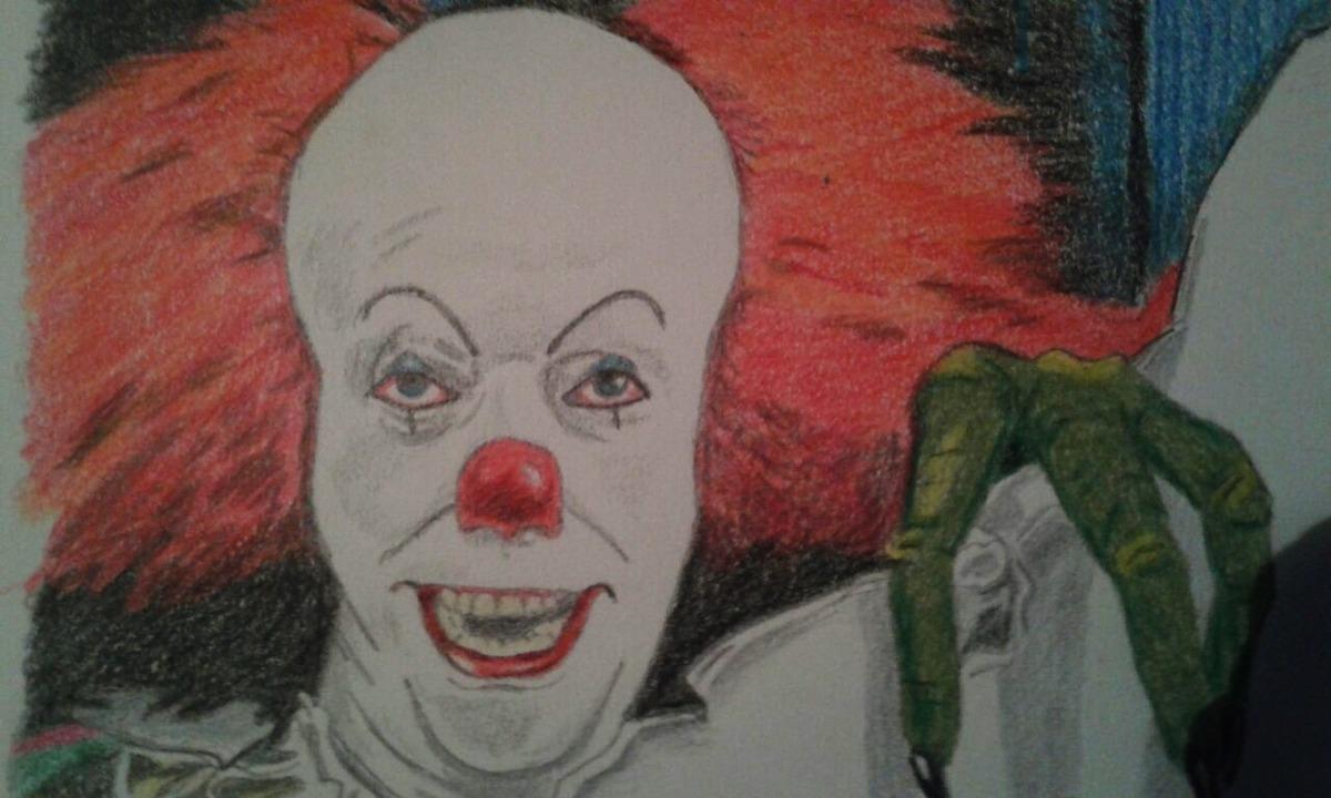 Dibujo A Lápiz Payaso It Pennywise Arte 70000 En Mercado Libre