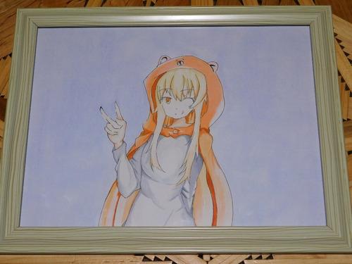 dibujo anime umaru of himouto umaru-chan prismacolor premier