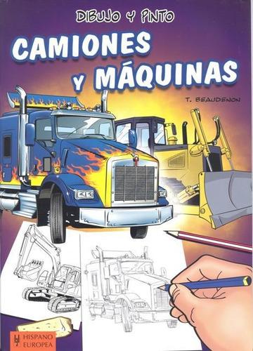 dibujo camiones y máquinas, beaudenon, hispano europea