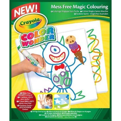 Dibujo Crayola Color Wonder Papel-30 Hojas - $ 1,164.13 en Mercado Libre