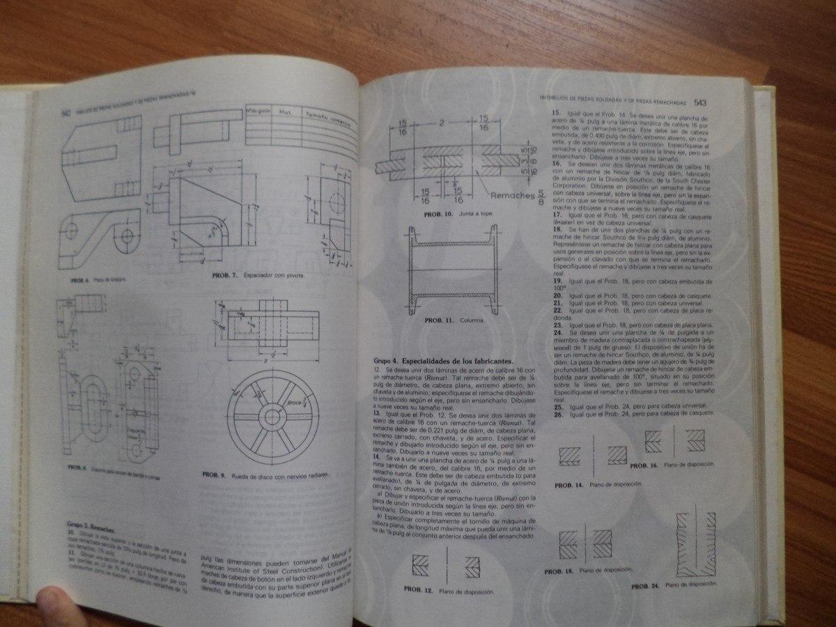 Dibujo De Ingeniera Y Tecnologa Grfica Tomo Lll   18000 en