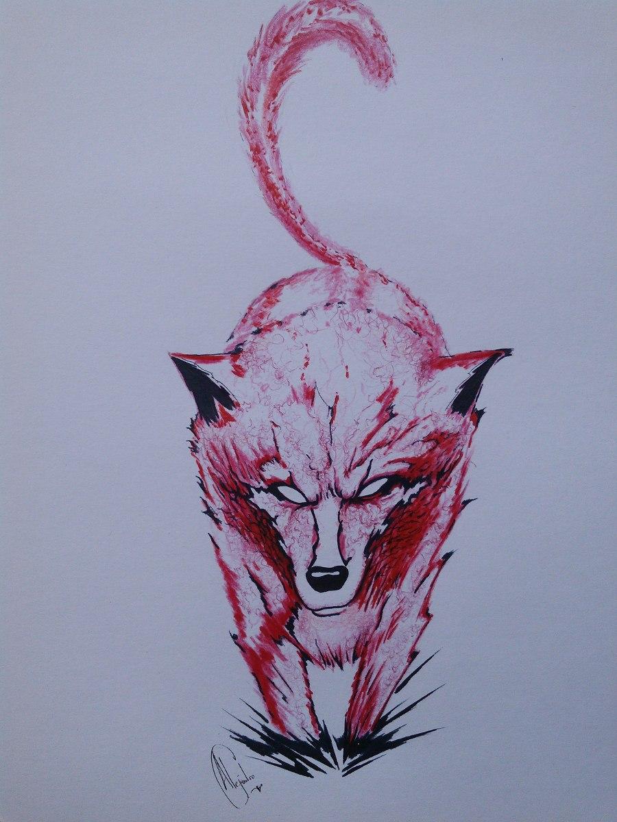 Dibujos De Un Lobo