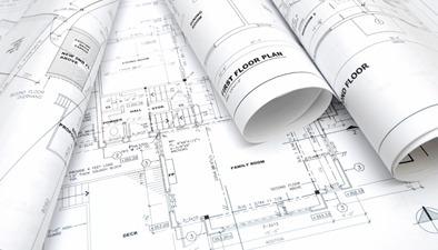 dibujo de plano 2d. digitalización (ingeniero civil)