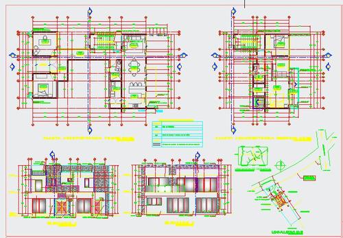 dibujo de planos arquitectonicos,mas de 20años de experienci