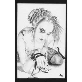 Dibujo Emilie Autumn